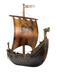 This is a Vikings ship.