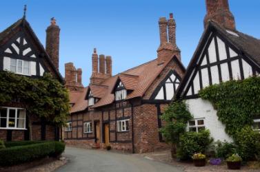 An English village.