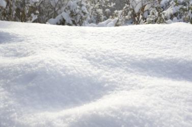 Snow is white.
