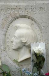 Chopins gravestone.