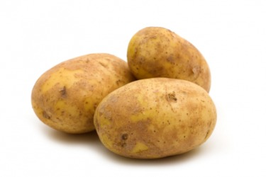 The potato contains amylum.