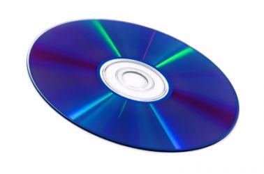 A blu-ray disc.