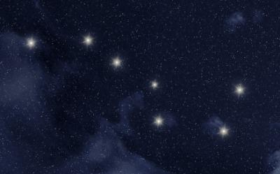 The constellation Ursa Major.