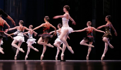 A ballet performance is one form of entertainment.