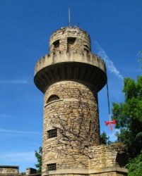 The tower is a specific locale in the story of Rapunzel.
