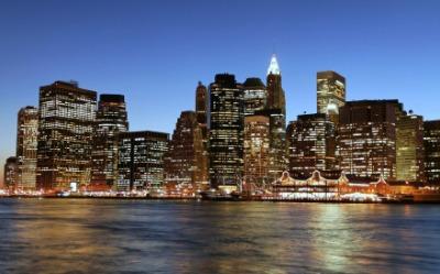 Manhattan is a metropolis.