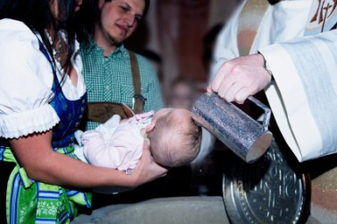 Baptism is one example of a ritual.