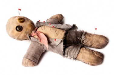 A voodoo doll.