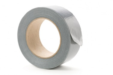 A roll of duct tape.