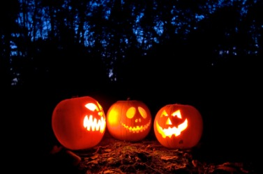 The Jack o'lantern is a symbol of Halloween.