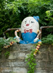 Humpty Dumpty is an example of a rhyme.