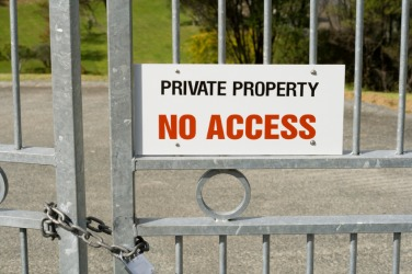You would need special permission to access this property.