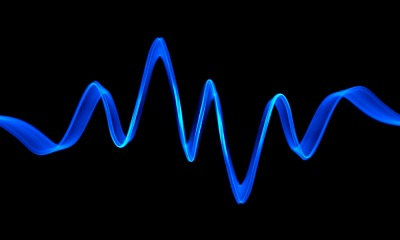 A wavelength is the distance between the crests of waves.