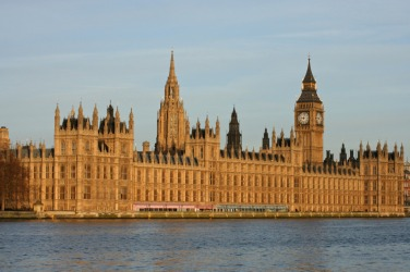 Parliament is the seat of British government.