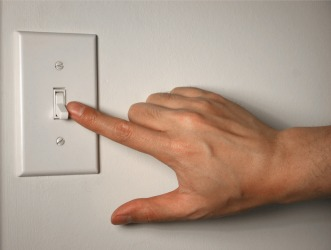 Turning off lights is an act of conservation.