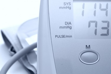 In this case, the diastolic pressure is 73.
