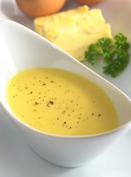 Hollandaise is an example of a mousseline sauce