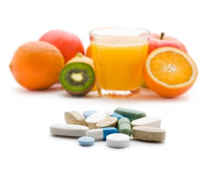 Vitamins are important for a healthy body.