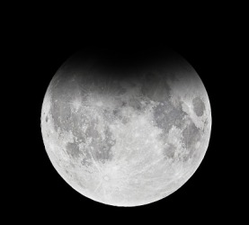 Full moon - penumbral lunar eclipse