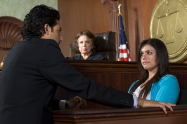 The witness was tempted to commit perjury but reconsidered after she remembered taking the oath to tell the truth.