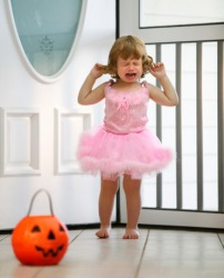 The petulant little girl cried uncontrollably when her mother couldn't find her glitter shoes.
