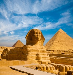 The phenomena of the construction of the Sphinx and pyramids of Egypt indicate an advanced, ancient civilization.