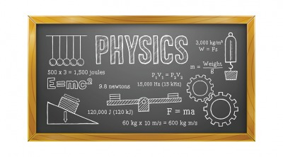 Illustration of types of physics.