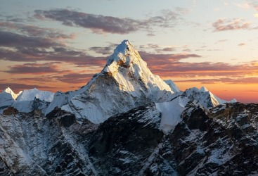 The pike of Ama Dablam is known for it's beauty.