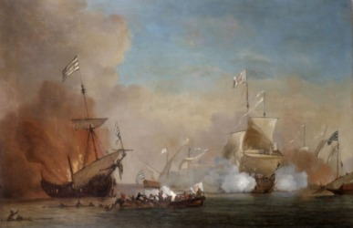 Piracy was a constant threat for ships traveling on the high seas during the 1700's and 1800's.
