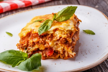My grandfather always orders the plat du jour at his favorite Italian restaurant when they feature lasagna.