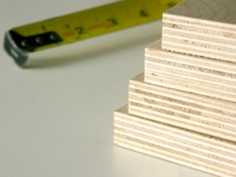 Plywood layers