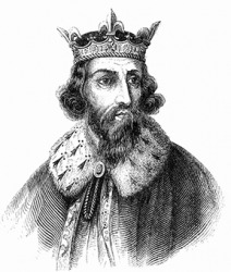 Alfred the Great was a potentate in Wessex, England during the time of the Viking raids.