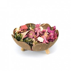 A bowl of potpourri