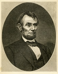 Abraham Lincoln was the 16th President of the United States of America.