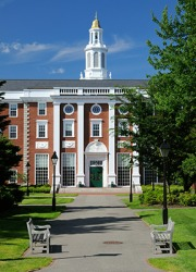 Harvard University is a prestigious school.