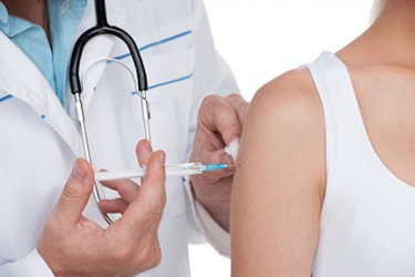 As a preventive measure, the patient scheduled a doctor's visit to get the flu vaccine.