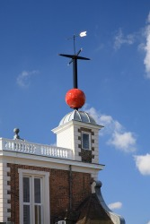 The Greenwich Time Ball is located at the prime meridian.