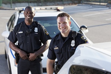 The two police officers, known for their probity, are well respected by the citizens that they serve.