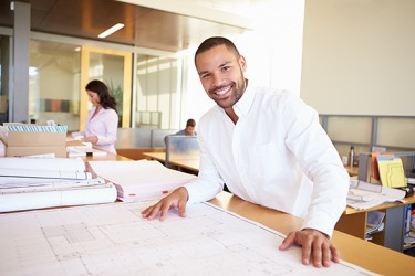 Jason prospers as an architect because he has a passion for beautiful design.