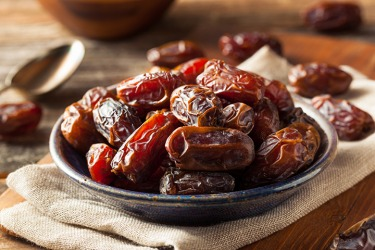 Dates in a bowl.