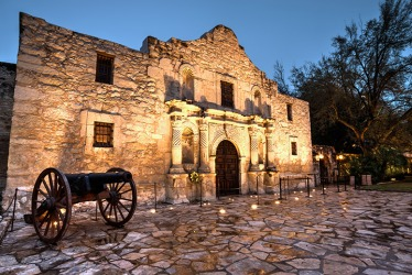 The Battle of the Alamo in Texas is an example of a Pyrrhic victory.