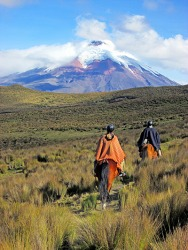 Cotopaxi in Equador is not a quiescent volcano and has recently had an increase in volcanic activity.