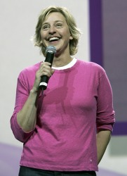 Ellen Degeneres often quips about everyday life.