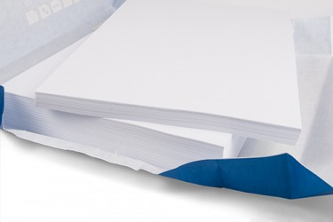 The ream of paper was quired and distributed to the group.