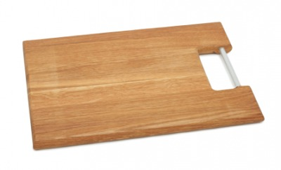 A chopping board used in the kitchen.