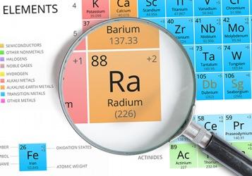 Radon comes from Radium