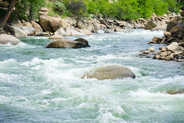 The Numbers Arkansas River Whitewater Rapids in Colorado