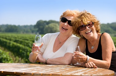 Madge and Linda have plenty of exploits to recollect because they always have a fun time together.