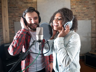 The recording artists hope to get signed by a major record label with their new music.