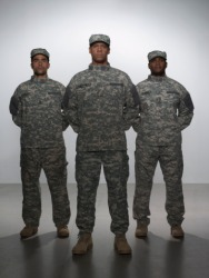 The new recruits must complete a grueling basic training to prepare them military service.